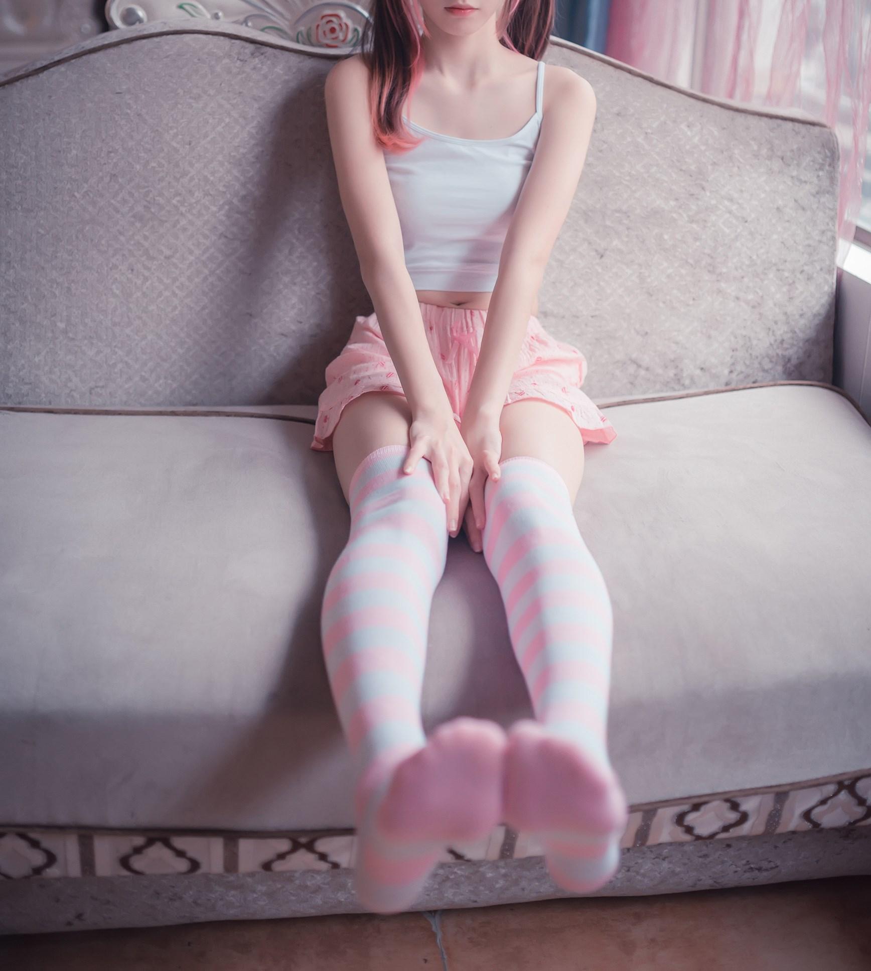 【兔玩映画】粉白条纹 兔玩映画 第31张