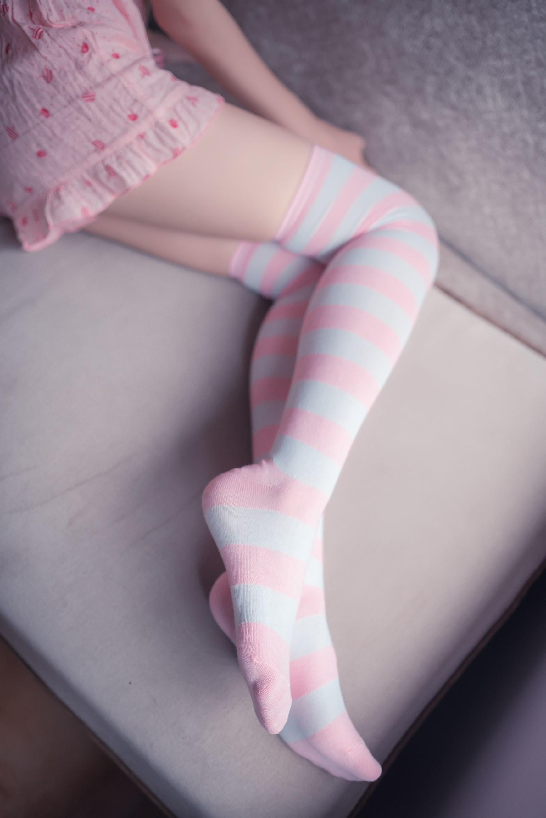 【兔玩映画】粉白条纹 兔玩映画 第26张