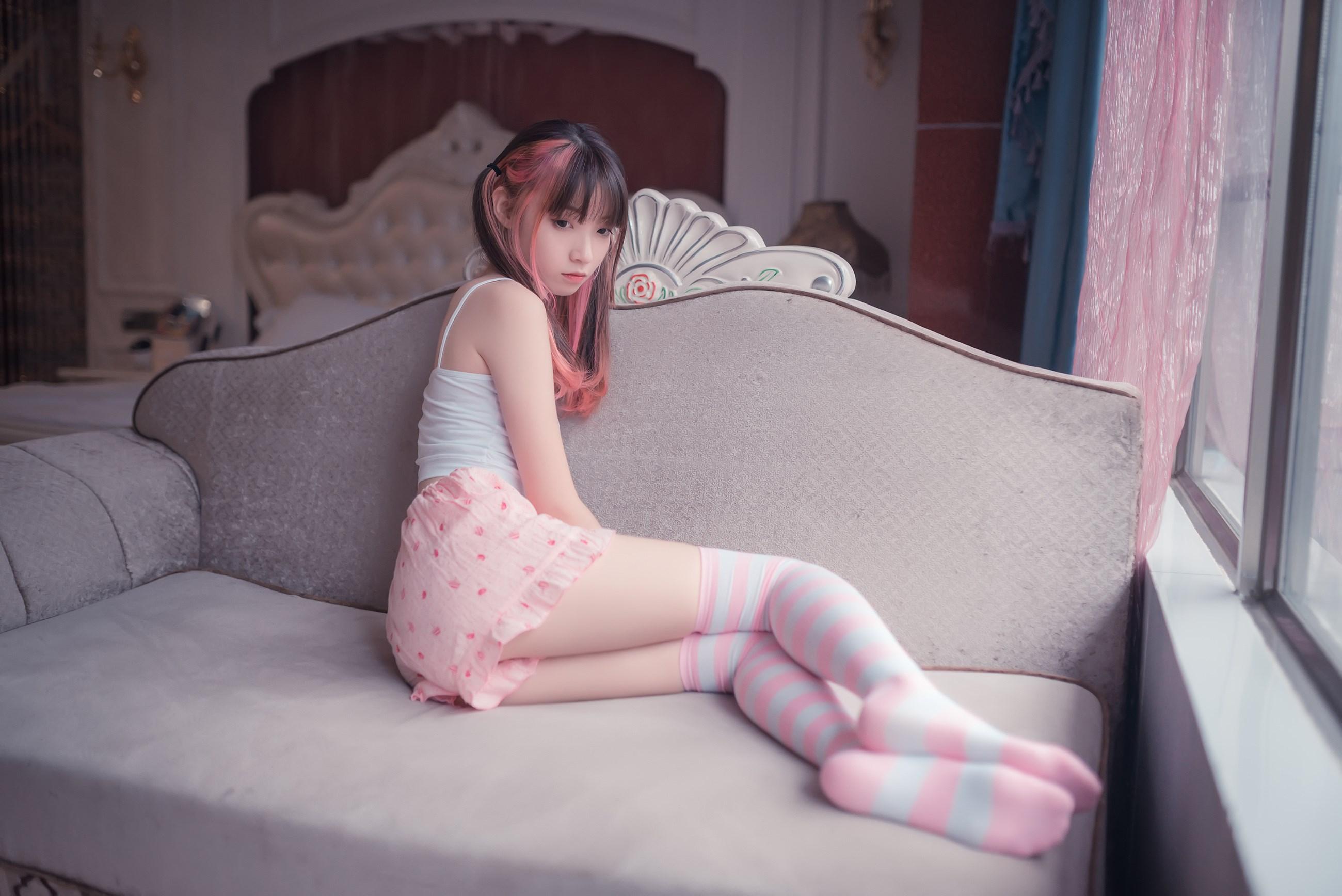 【兔玩映画】粉白条纹 兔玩映画 第24张