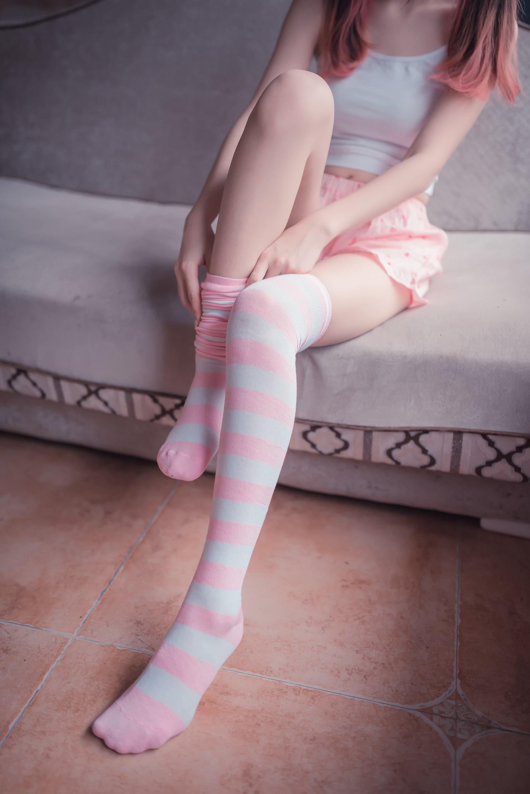 【兔玩映画】粉白条纹 兔玩映画 第16张