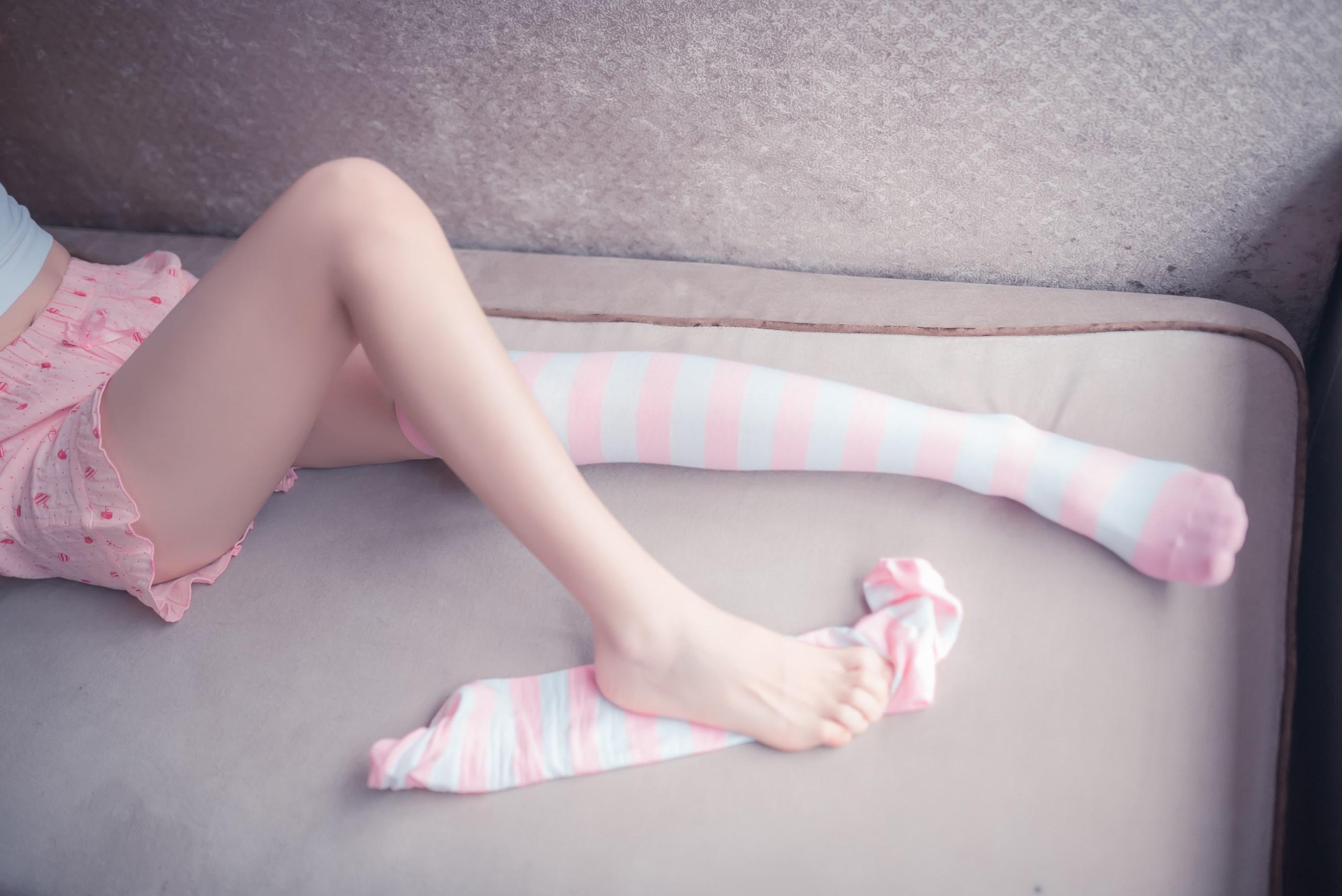 【兔玩映画】粉白条纹 兔玩映画 第15张
