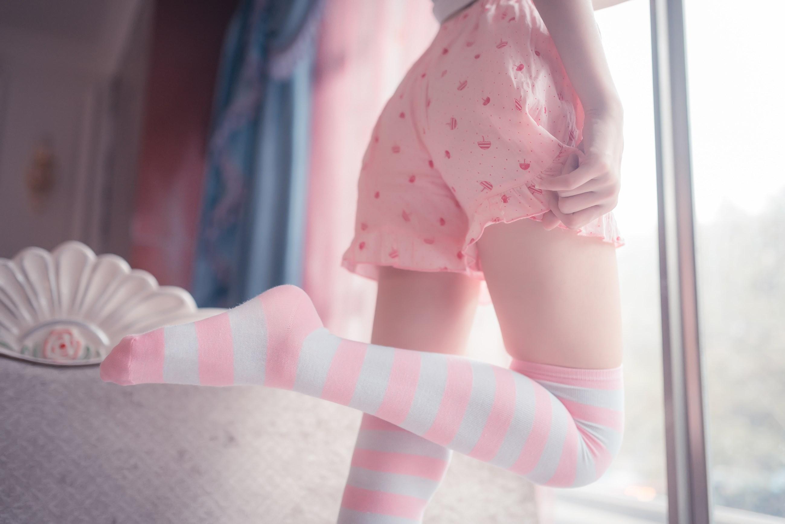【兔玩映画】粉白条纹 兔玩映画 第14张