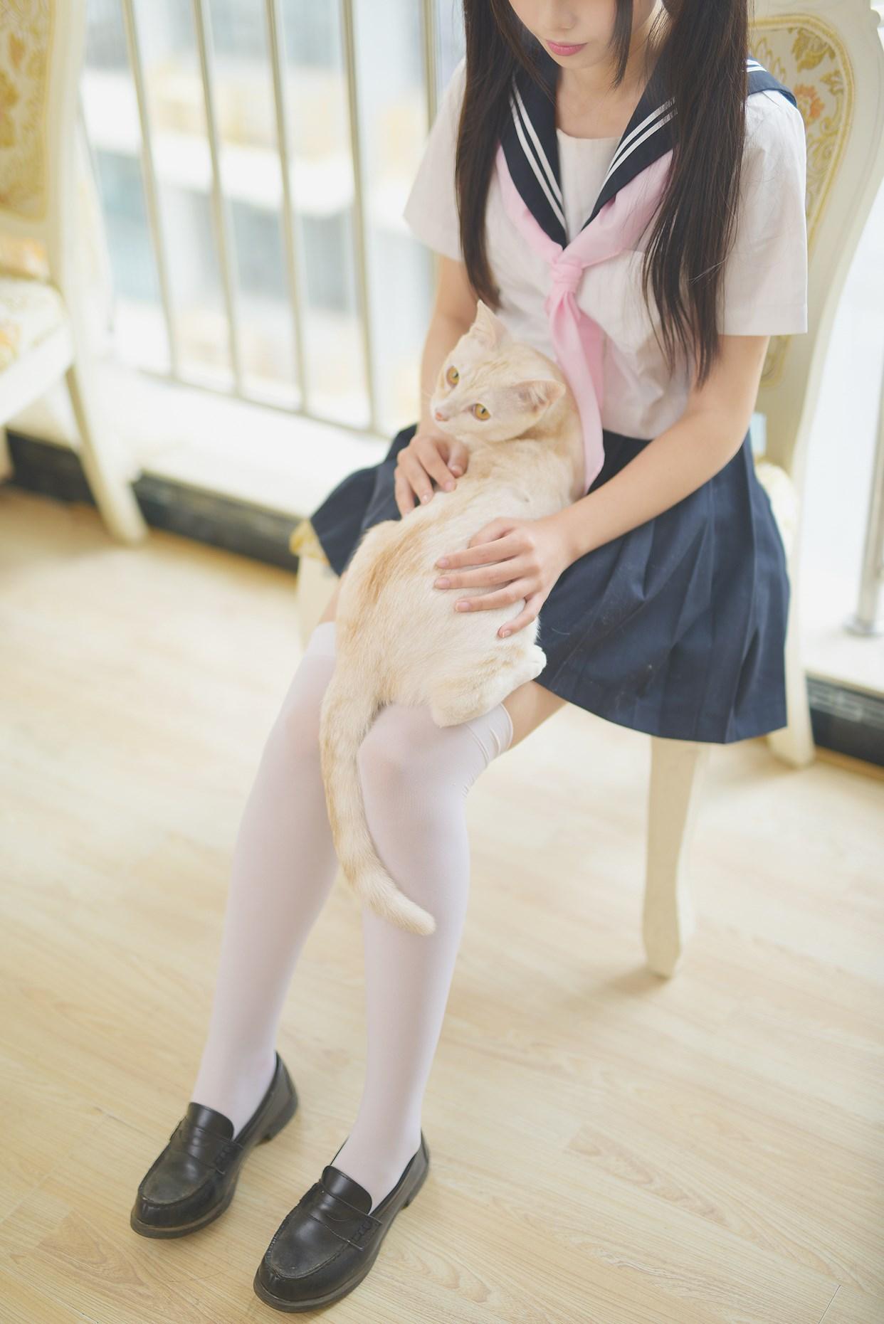 【兔玩映画】水手服的喵喵酱 兔玩映画 第44张