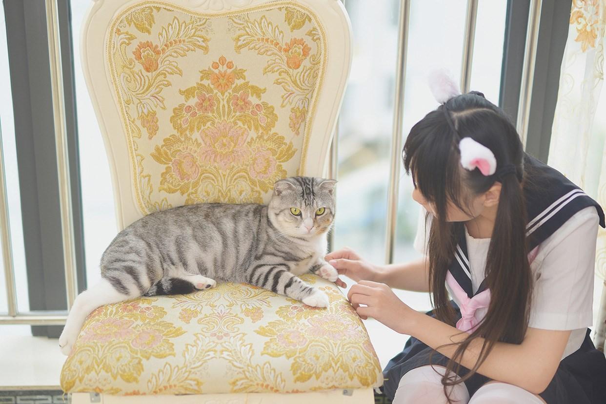 【兔玩映画】水手服的喵喵酱 兔玩映画 第36张