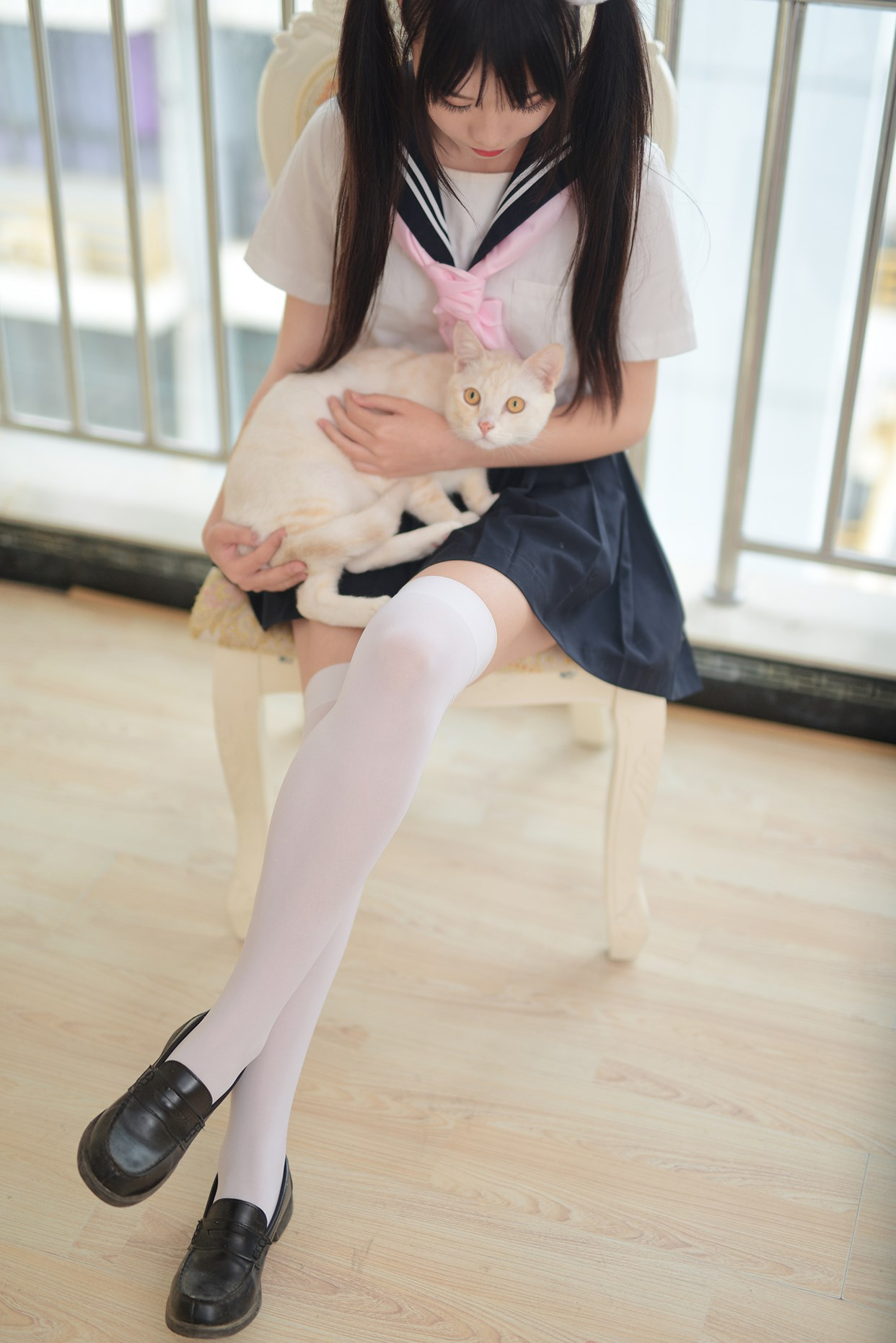 【兔玩映画】水手服的喵喵酱 兔玩映画 第34张