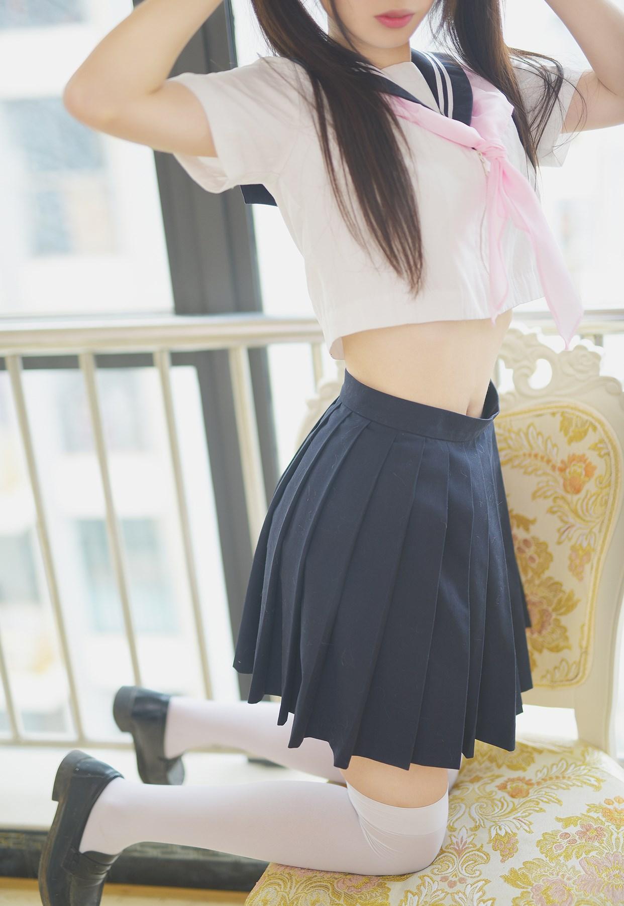【兔玩映画】水手服的喵喵酱 兔玩映画 第13张