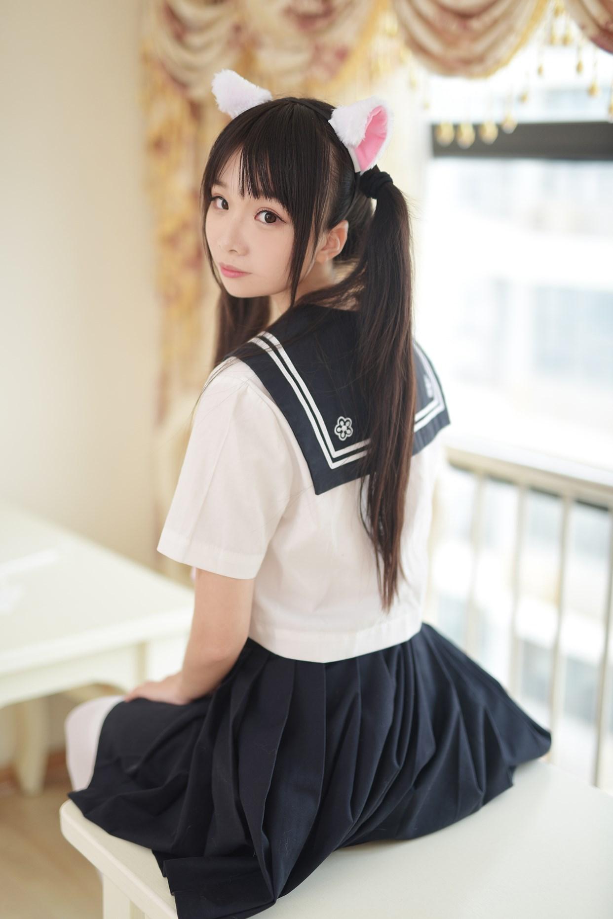 【兔玩映画】水手服的喵喵酱 兔玩映画 第11张
