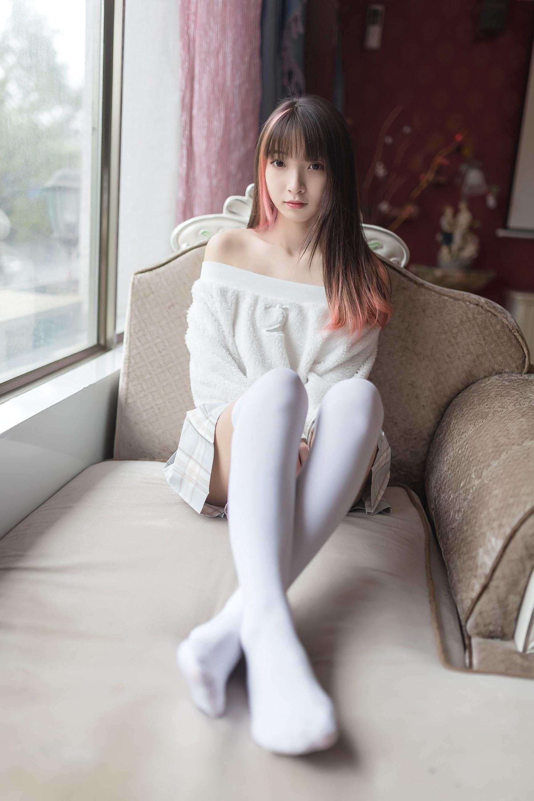 【兔玩映画】露肩少女 兔玩映画 第39张
