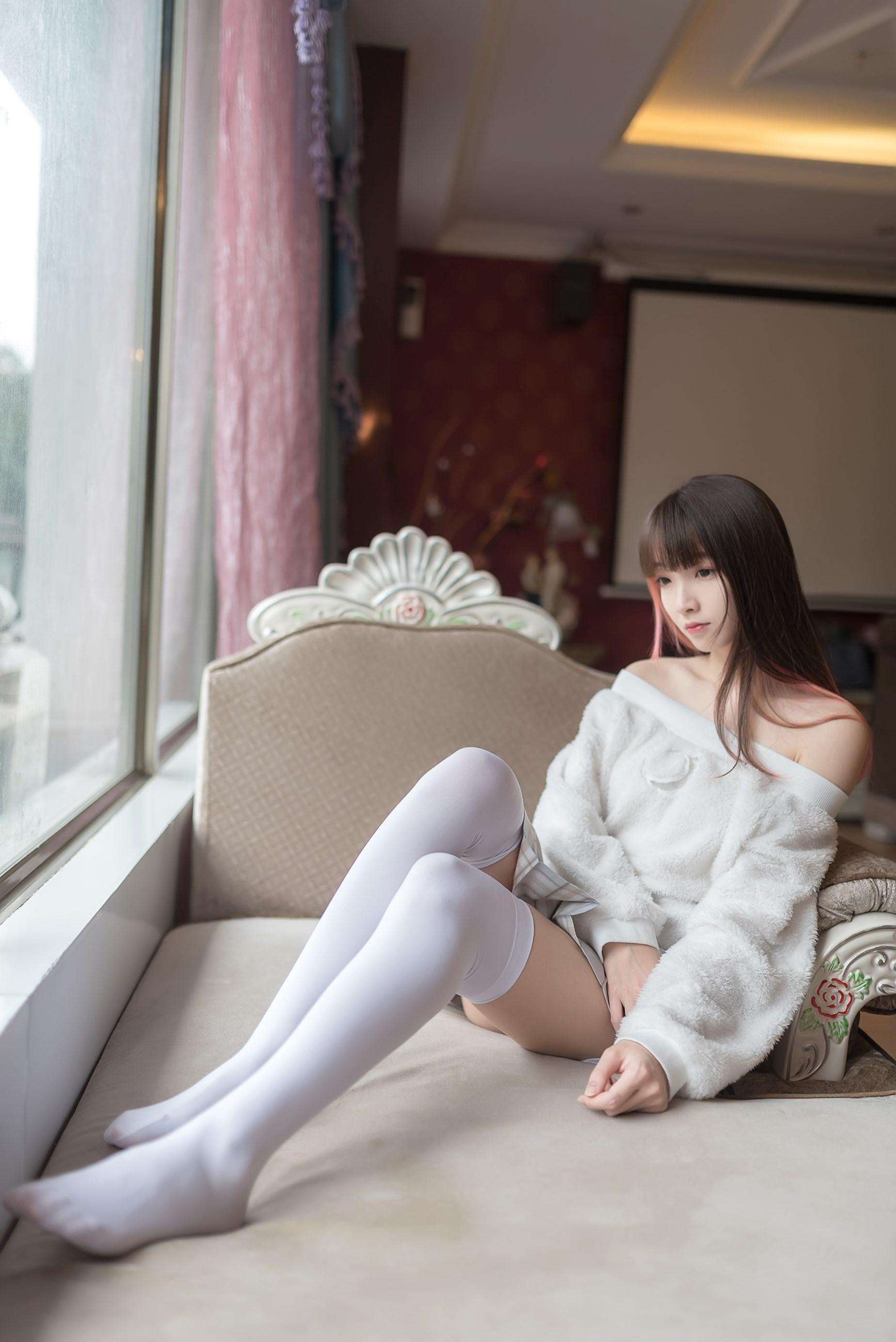 【兔玩映画】露肩少女 兔玩映画 第37张