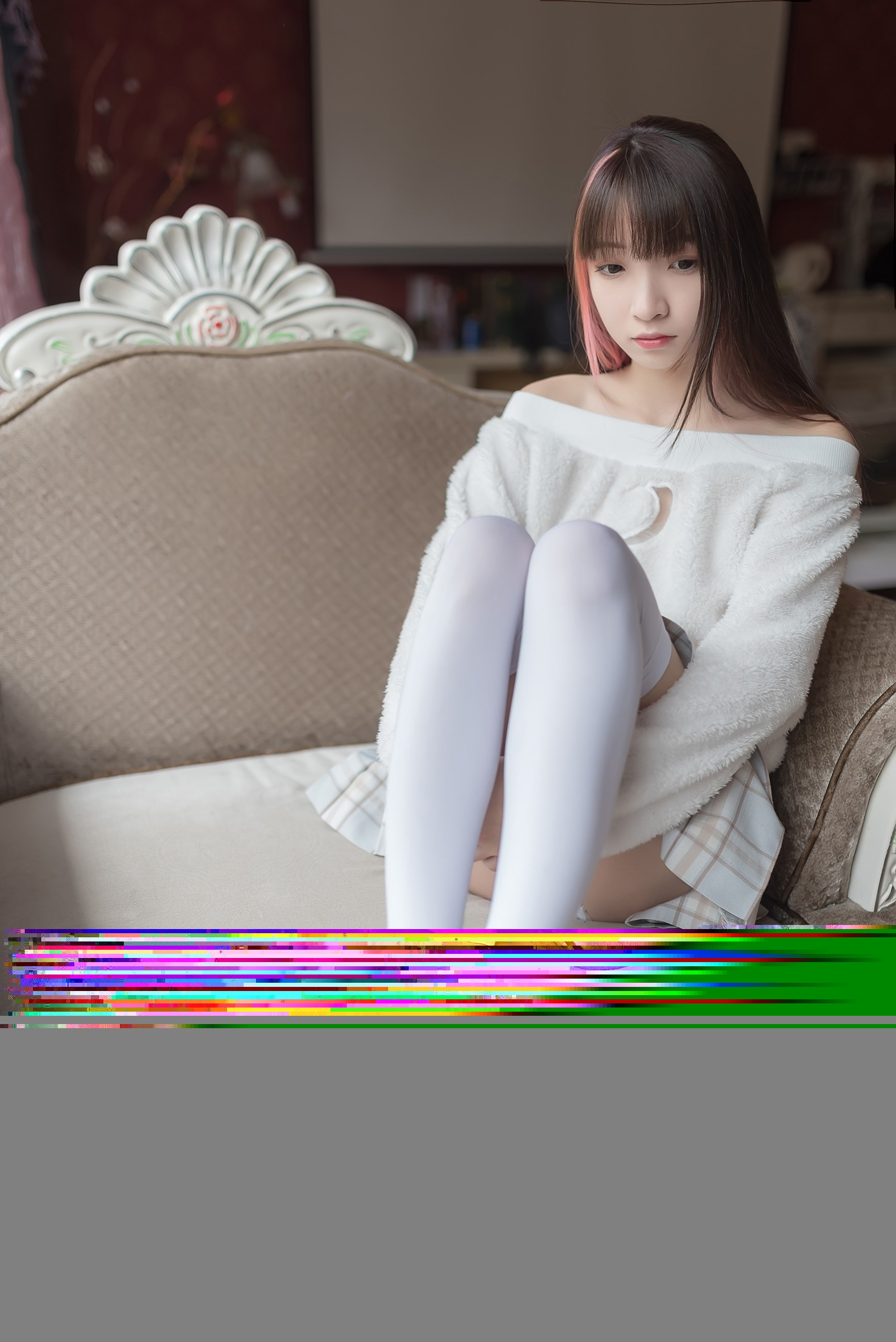 【兔玩映画】露肩少女 兔玩映画 第36张
