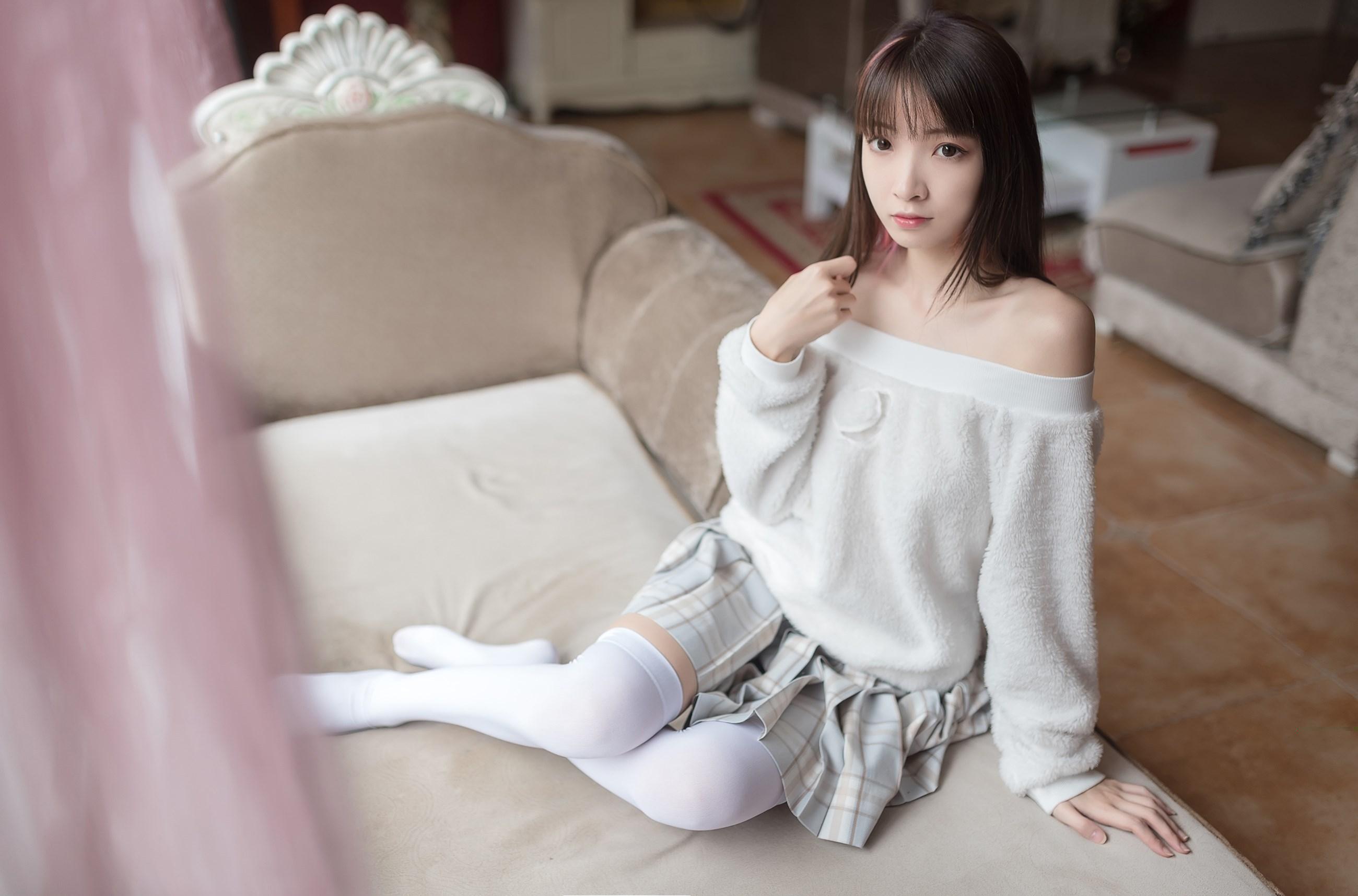 【兔玩映画】露肩少女 兔玩映画 第27张