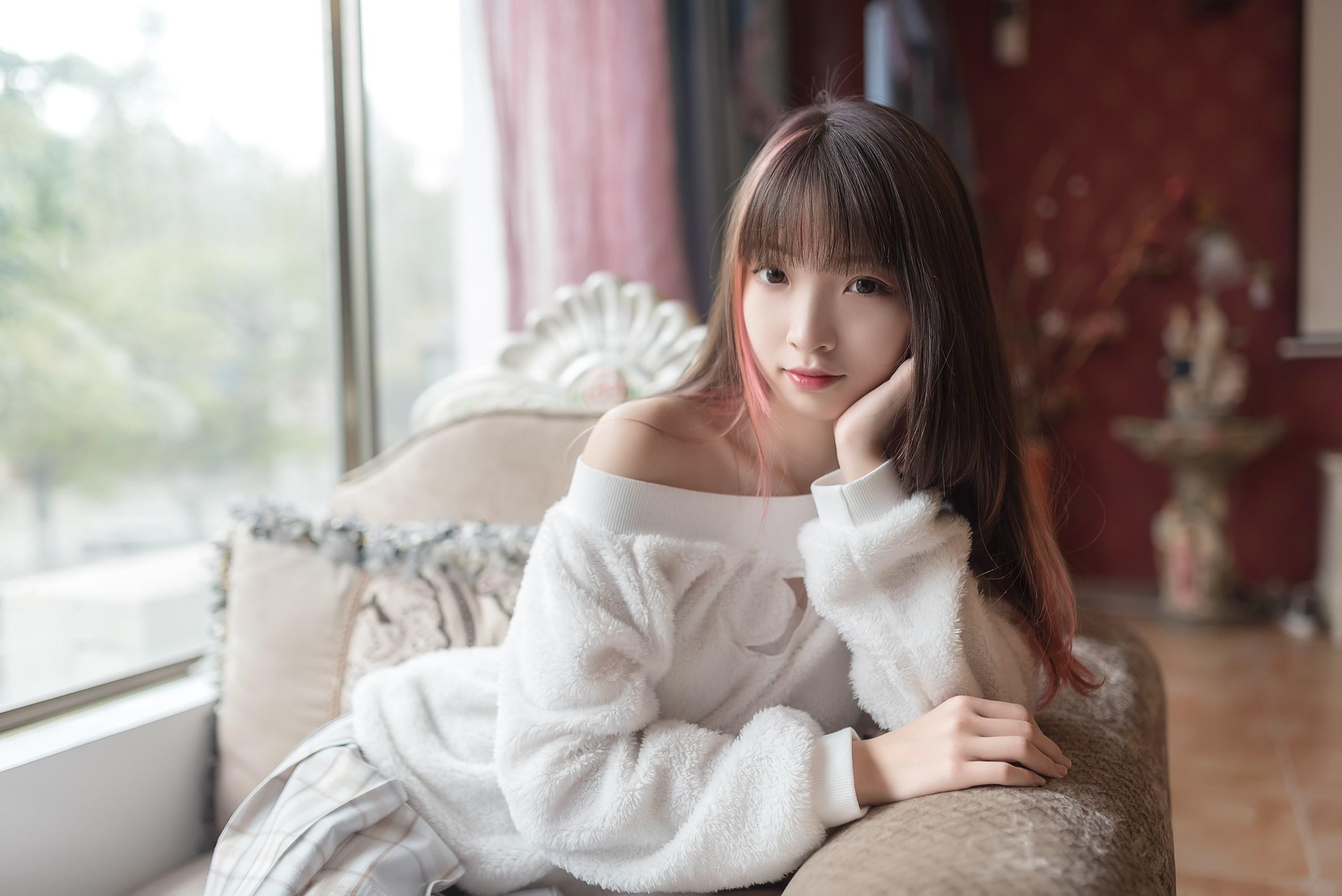 【兔玩映画】露肩少女 兔玩映画 第16张