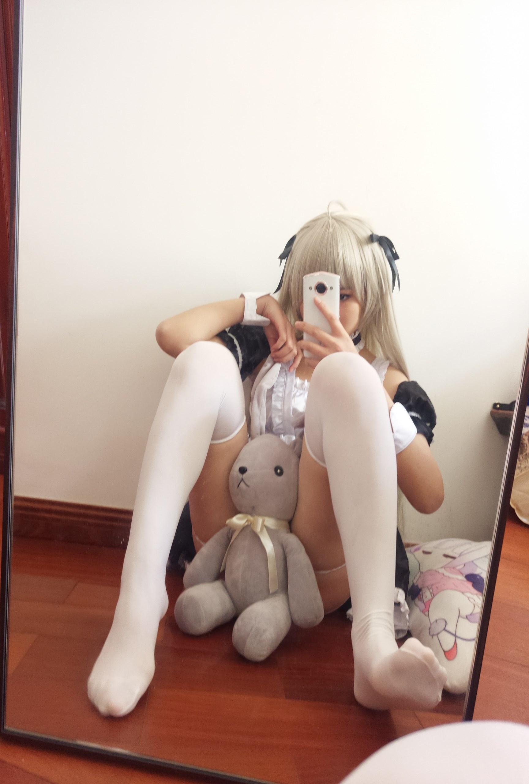 【兔玩映画】萌妹自拍-女仆装穹妹 兔玩映画 第35张