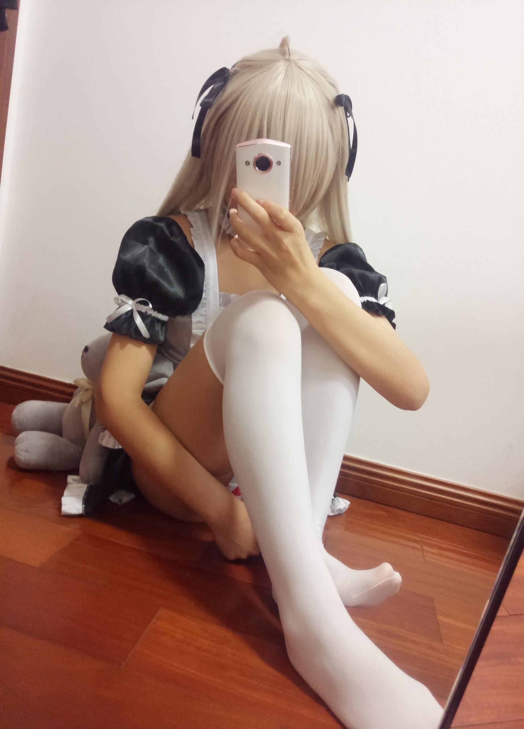 【兔玩映画】萌妹自拍-女仆装穹妹 兔玩映画 第19张