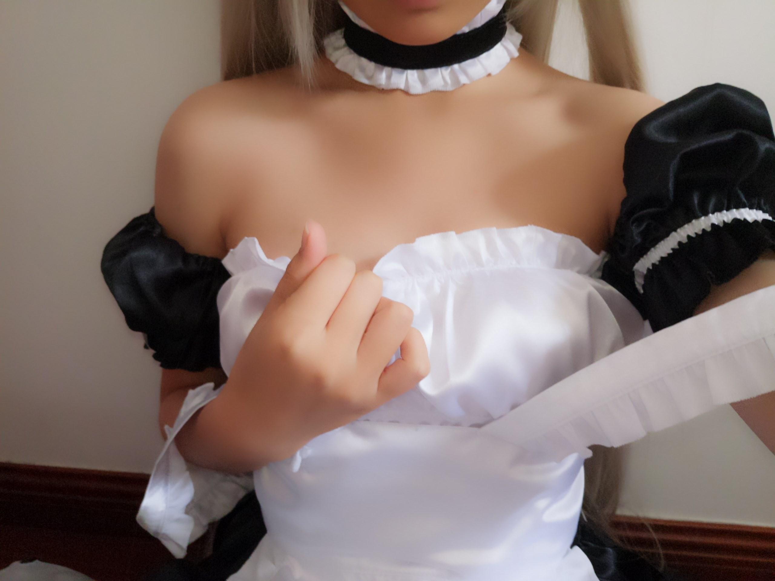 【兔玩映画】萌妹自拍-女仆装穹妹 兔玩映画 第5张