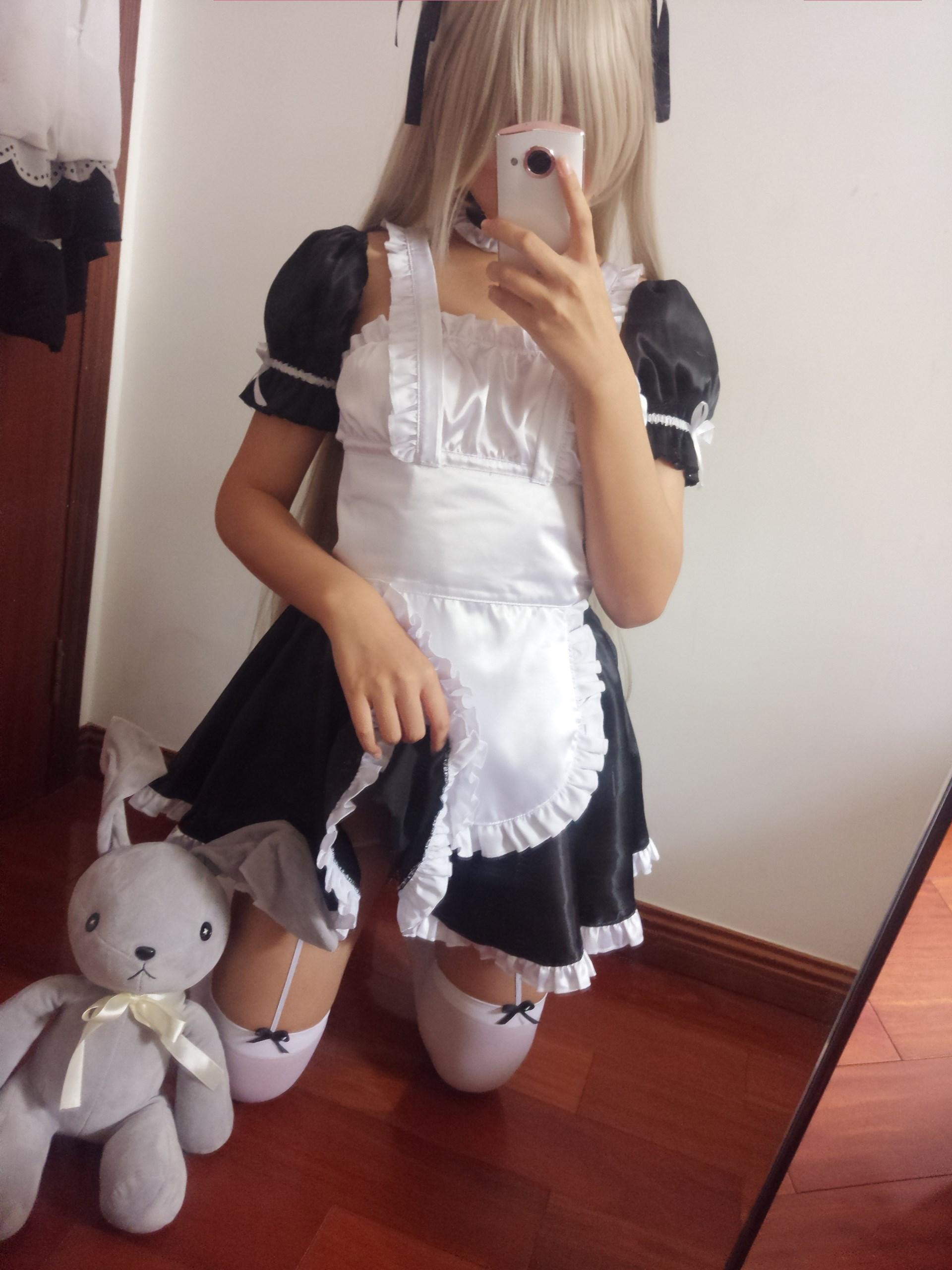 【兔玩映画】萌妹自拍-女仆装穹妹 兔玩映画 第1张
