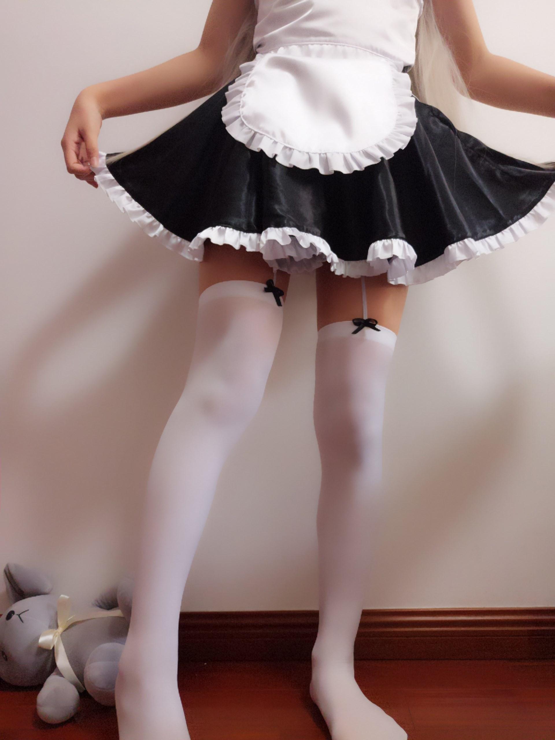 【兔玩映画】萌妹自拍-穹妹女仆装 兔玩映画 第25张