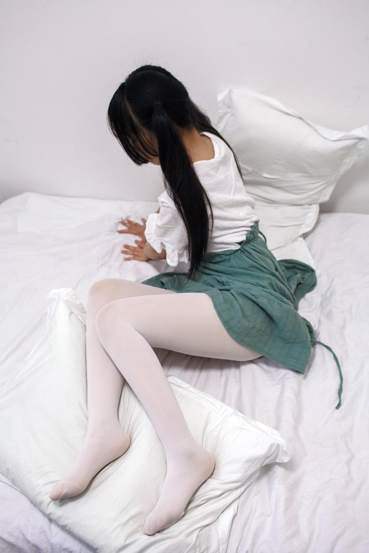 【兔玩映画】白丝萝莉半度喵 兔玩映画 第24张