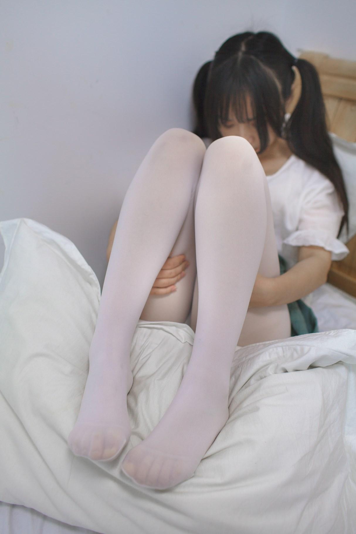【兔玩映画】白丝萝莉半度喵 兔玩映画 第10张