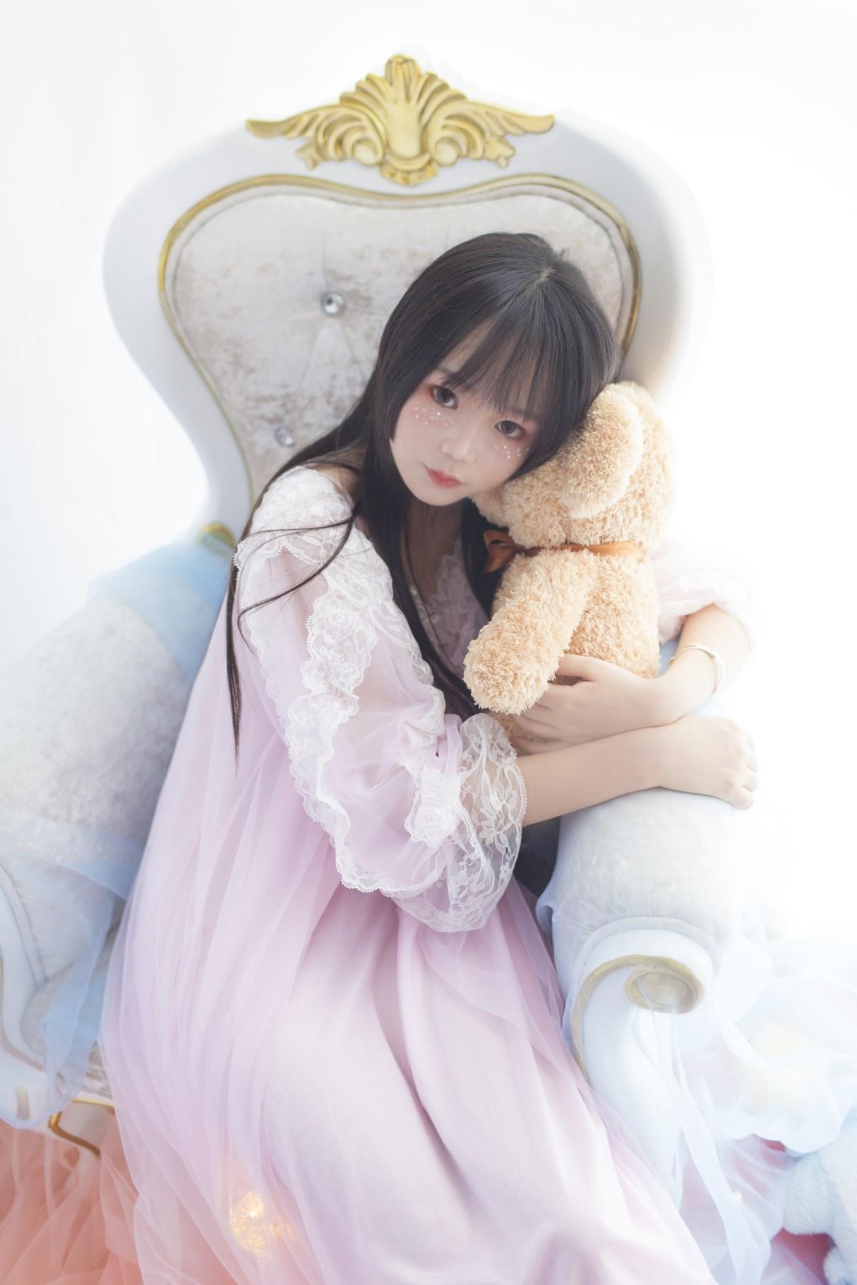 【兔玩映画】白丝萝莉半度喵 兔玩映画 第7张