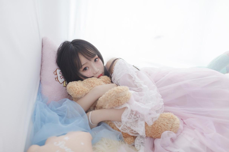 【兔玩映画】白丝萝莉半度喵 兔玩映画 第6张