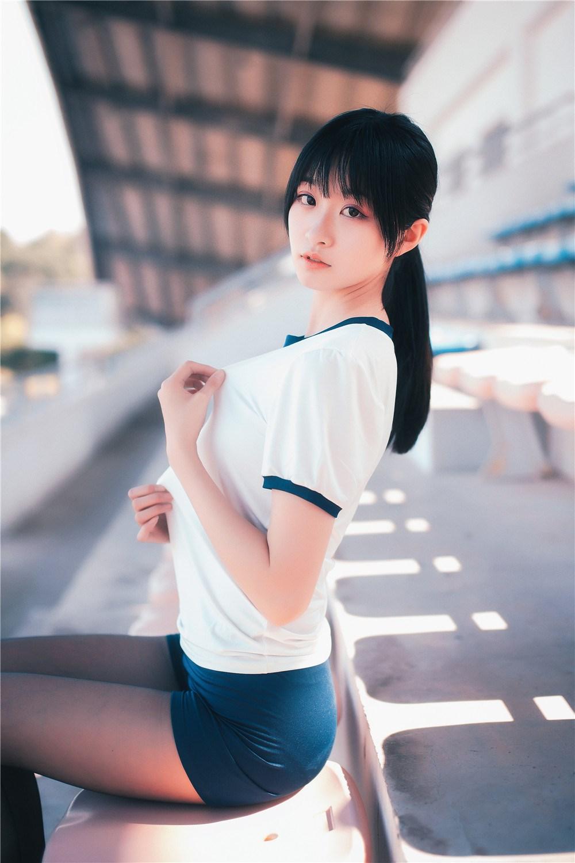【兔玩映画】桔梗体操服 兔玩映画 第40张