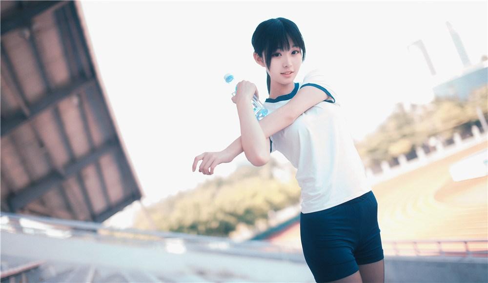 【兔玩映画】桔梗体操服 兔玩映画 第35张