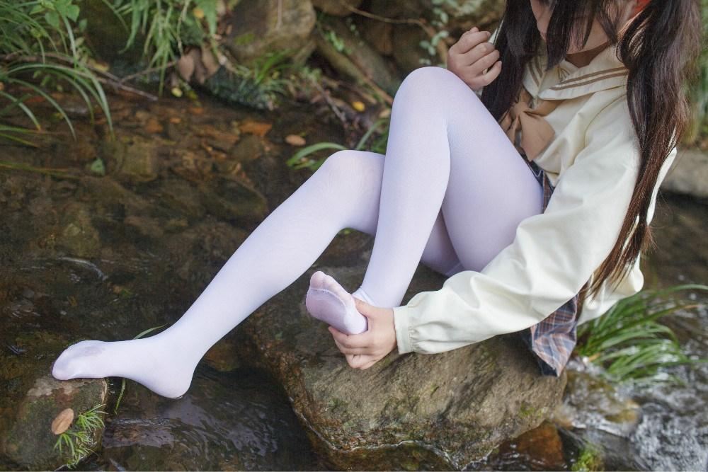 【兔玩映画】野外的萝莉白丝 兔玩映画 第35张