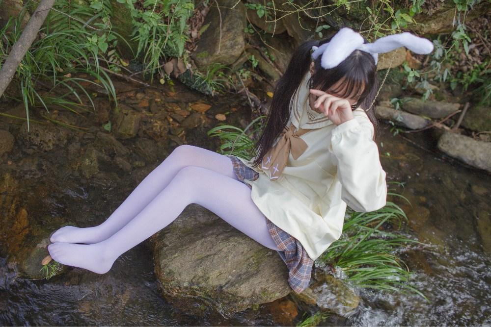 【兔玩映画】野外的萝莉白丝 兔玩映画 第29张