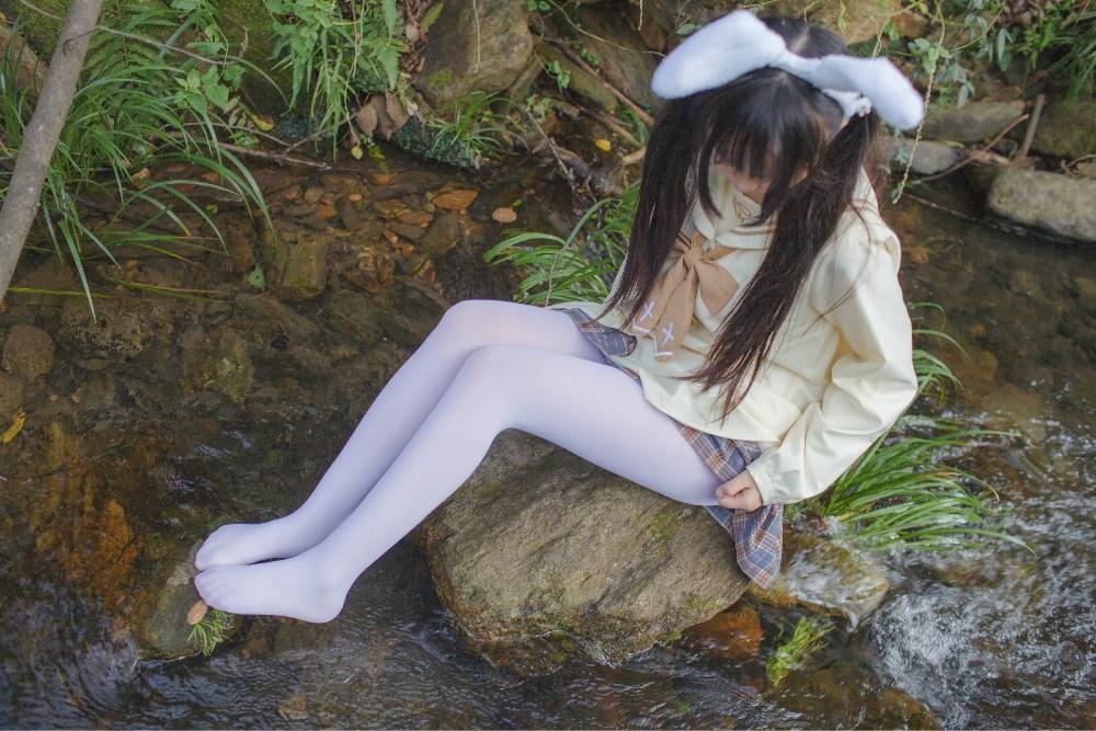 【兔玩映画】野外的萝莉白丝 兔玩映画 第28张