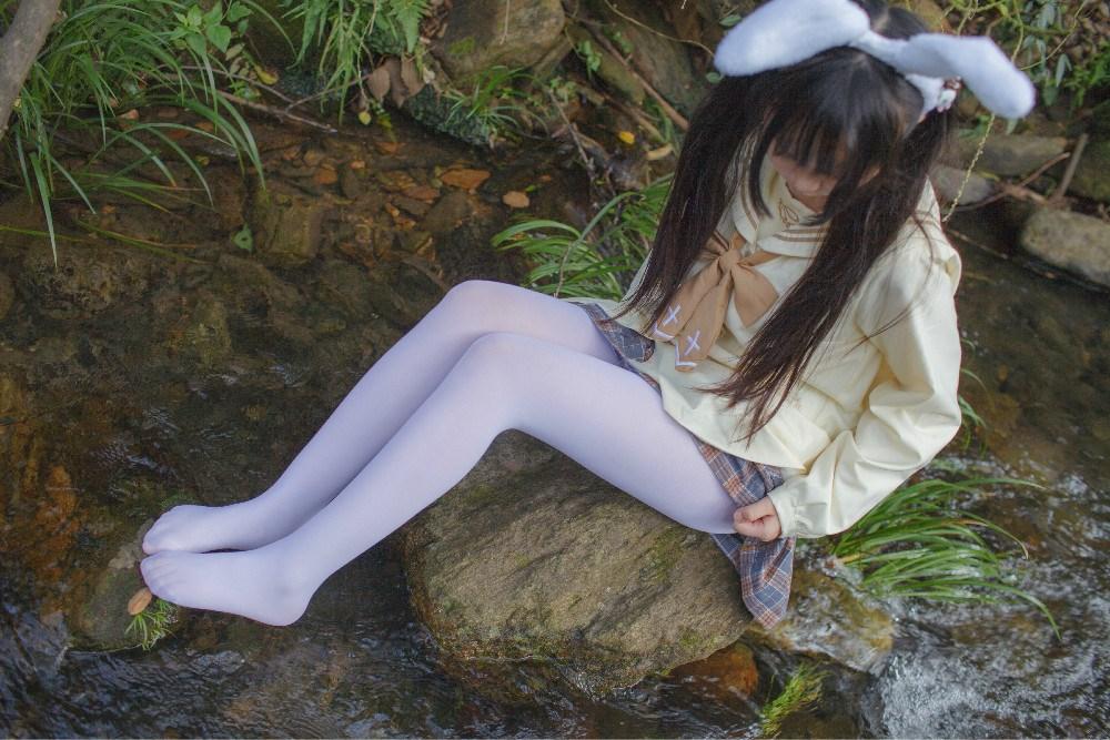 【兔玩映画】野外的萝莉白丝 兔玩映画 第27张