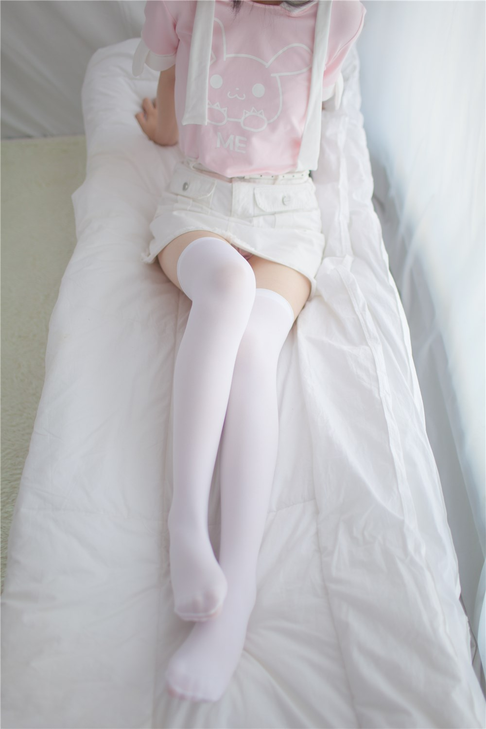【兔玩映画】粉白的兔叽 兔玩映画 第12张