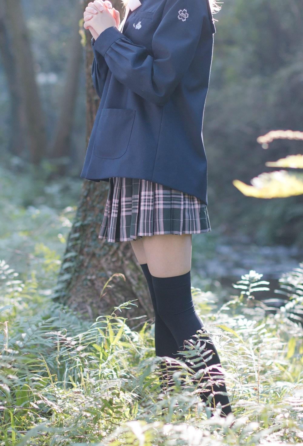 【兔玩映画】荒郊野岭 · 黑丝少女 兔玩映画 第23张
