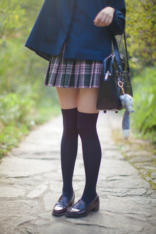 【兔玩映画】荒郊野岭 · 黑丝少女 兔玩映画 第7张