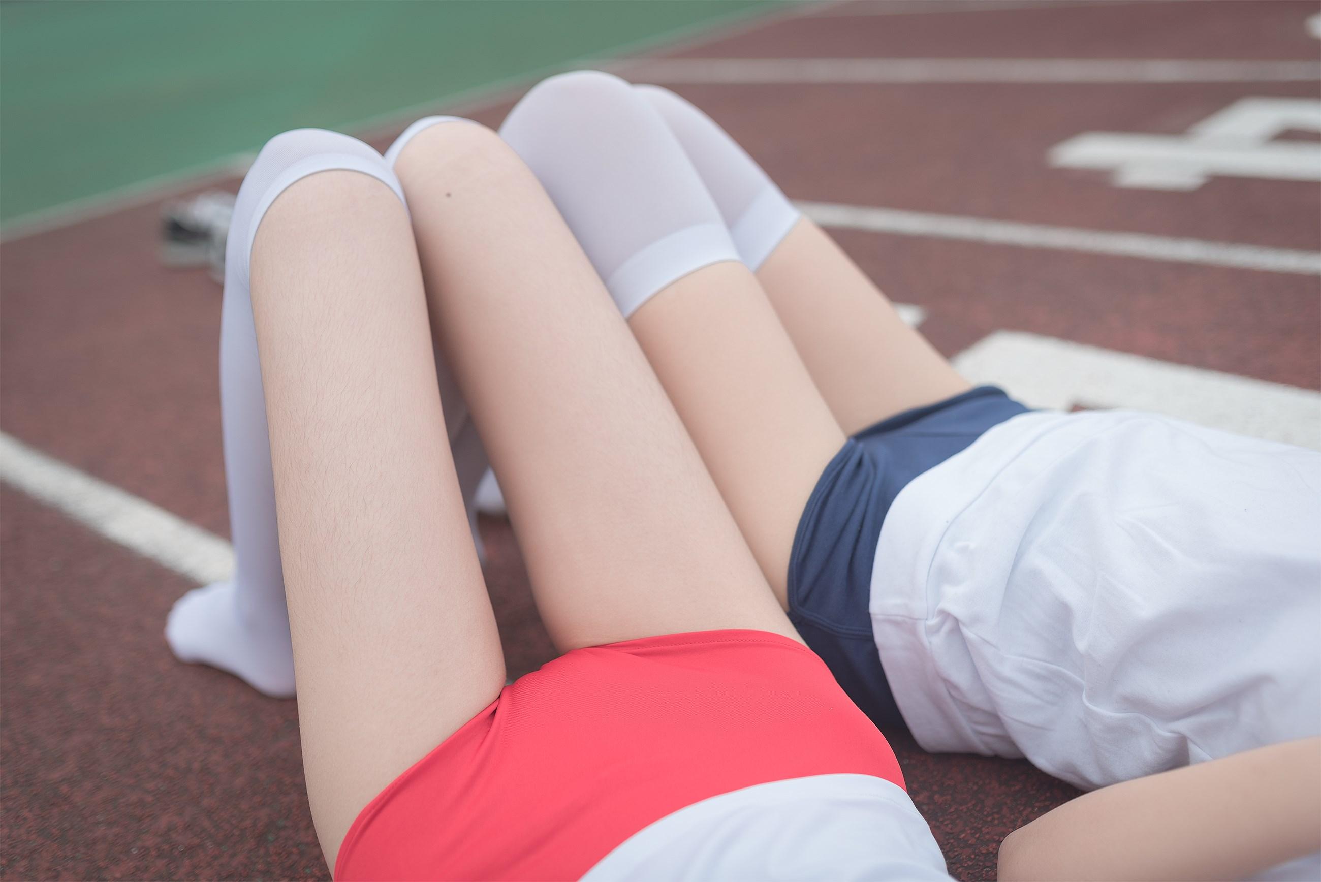 【兔玩映画】百合体操服少女 兔玩映画 第41张