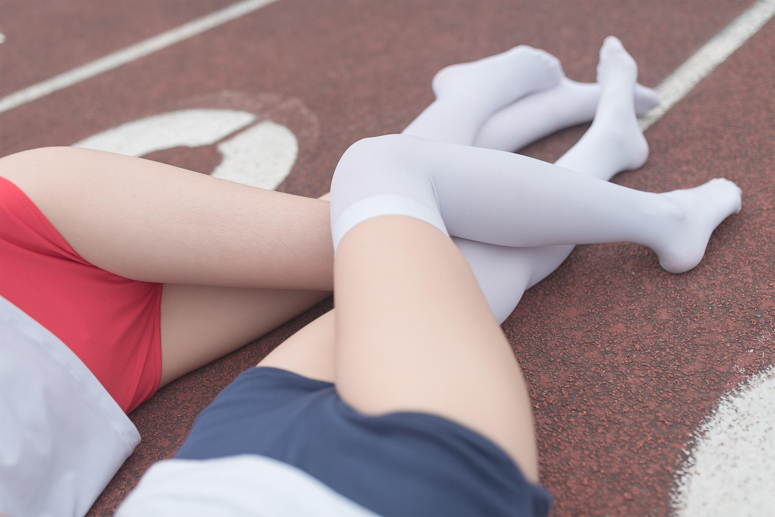 【兔玩映画】百合体操服少女 兔玩映画 第36张