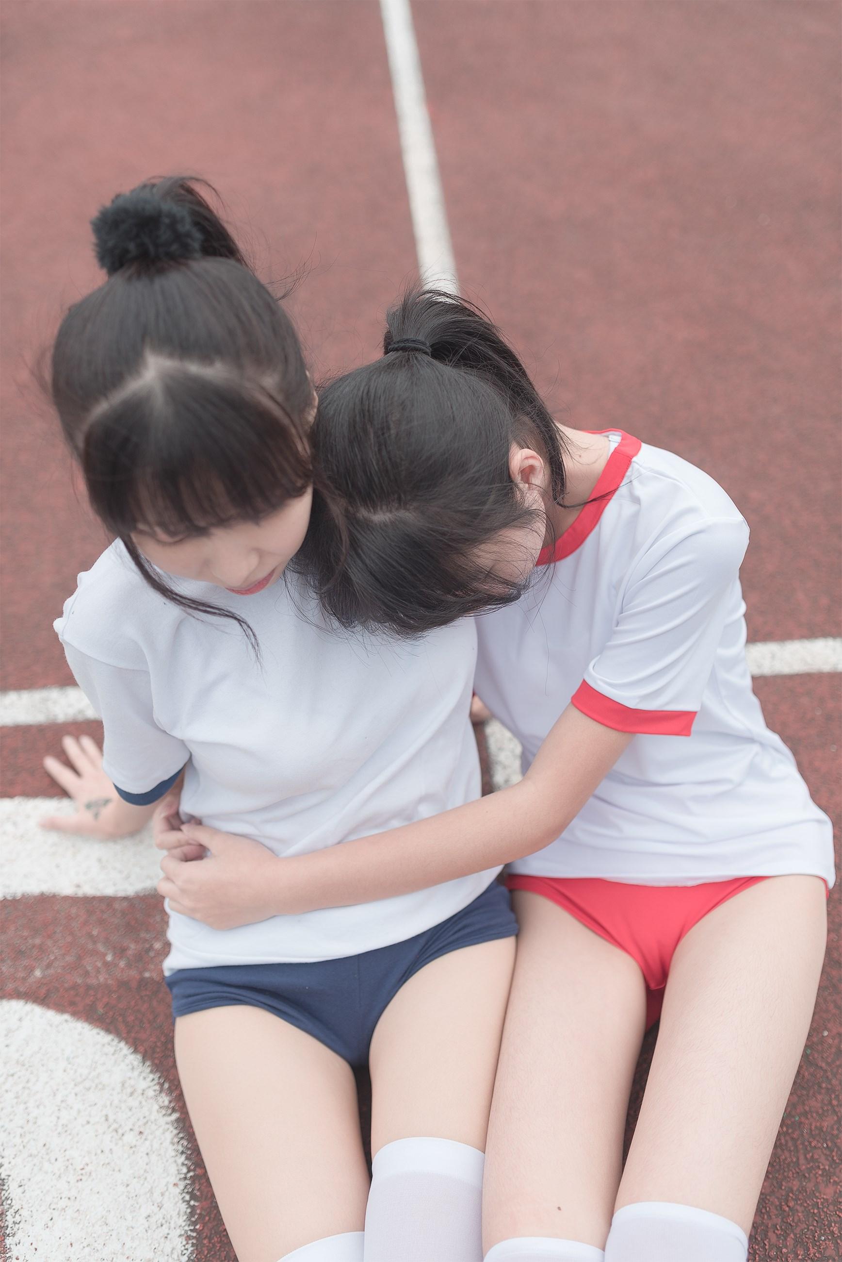 【兔玩映画】百合体操服少女 兔玩映画 第34张