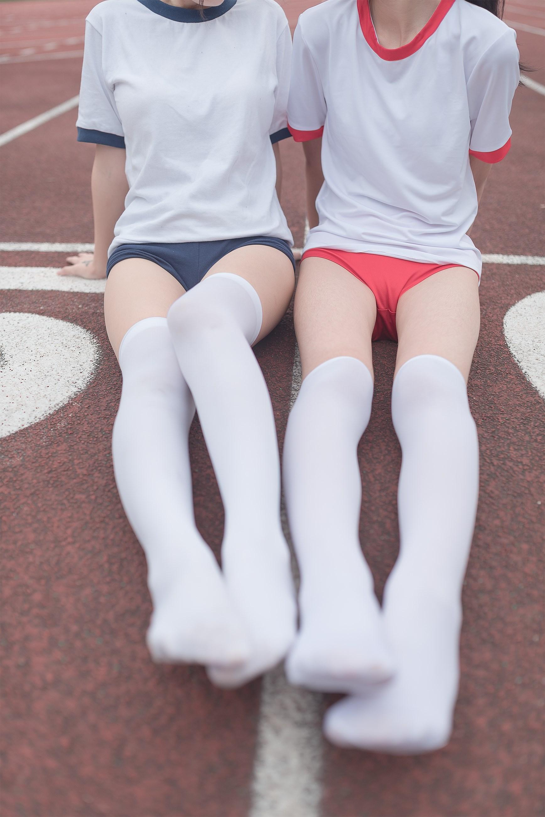 【兔玩映画】百合体操服少女 兔玩映画 第33张