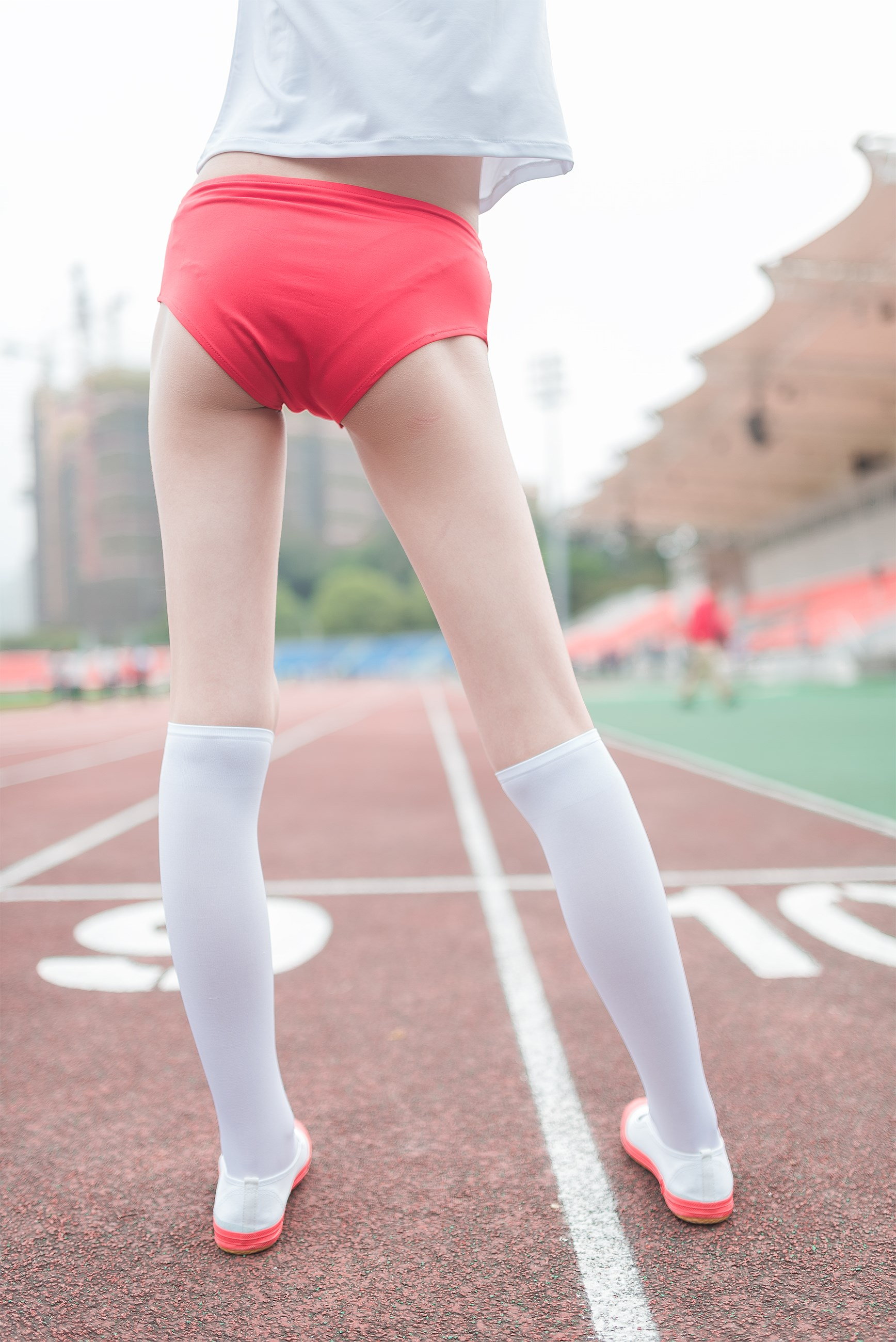 【兔玩映画】百合体操服少女 兔玩映画 第30张