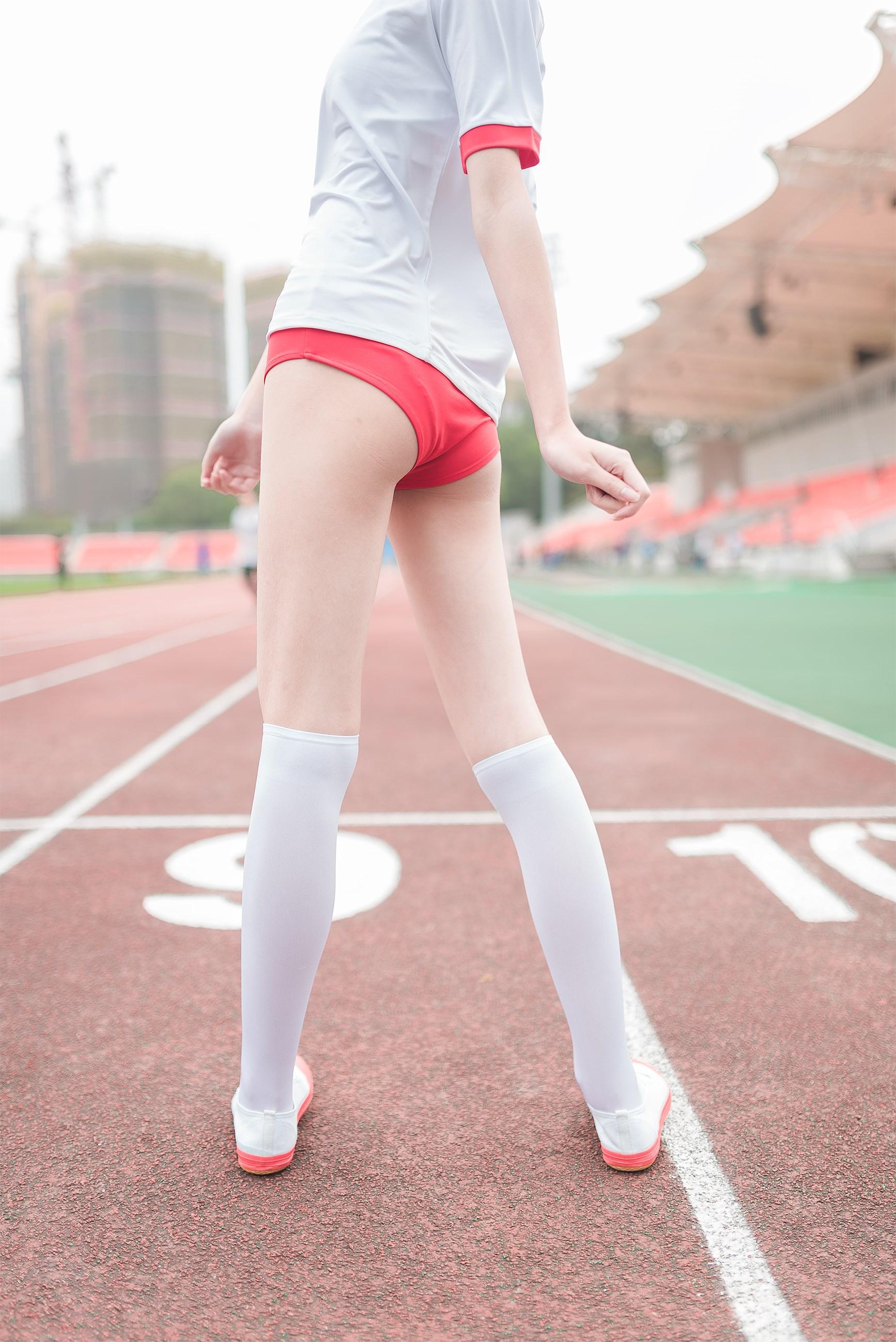 【兔玩映画】百合体操服少女 兔玩映画 第29张
