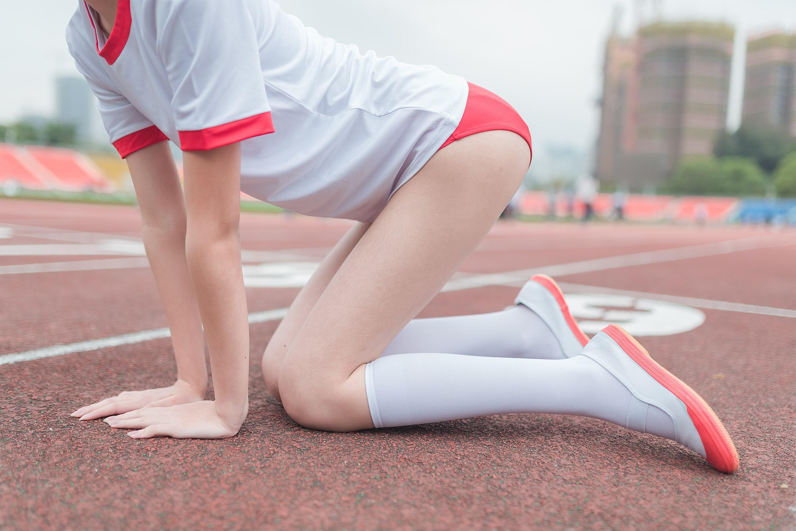 【兔玩映画】百合体操服少女 兔玩映画 第26张