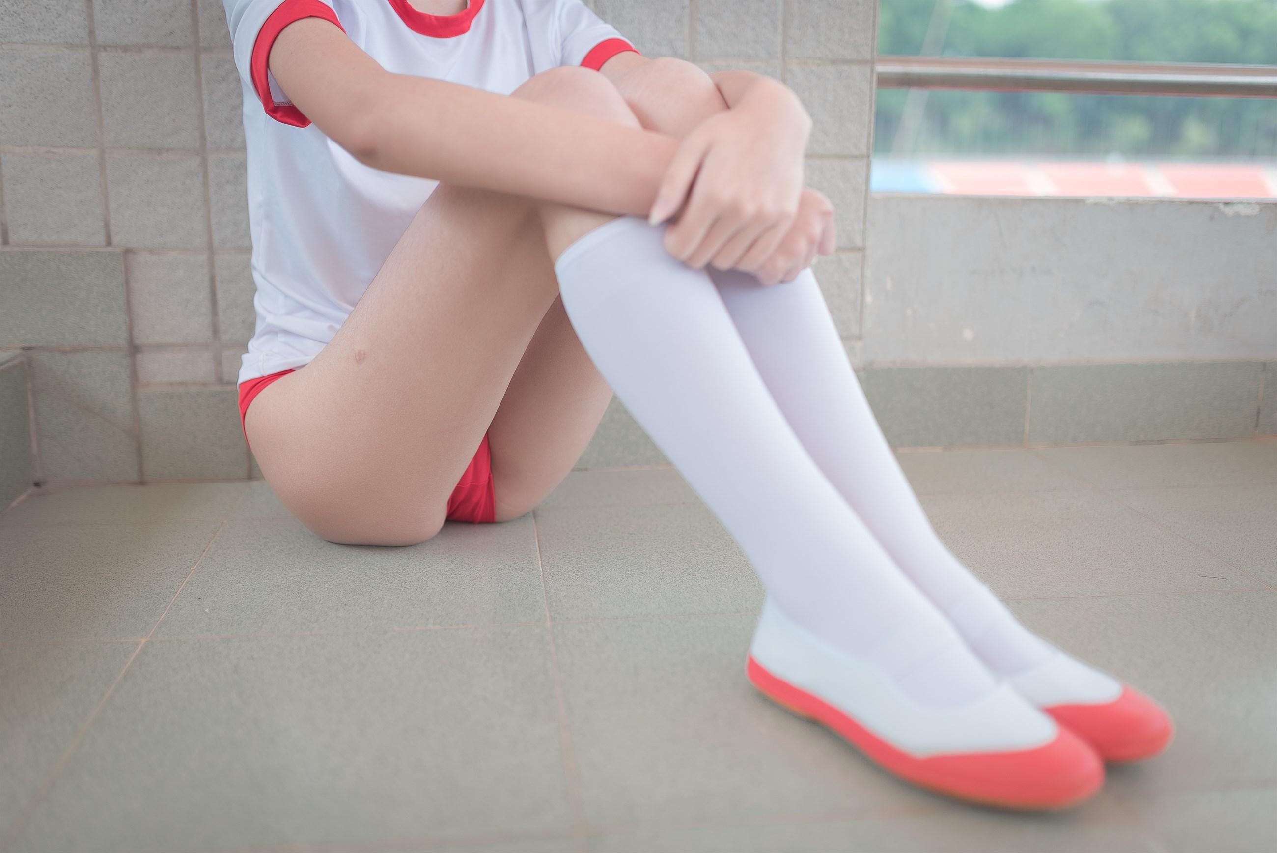 【兔玩映画】百合体操服少女 兔玩映画 第17张