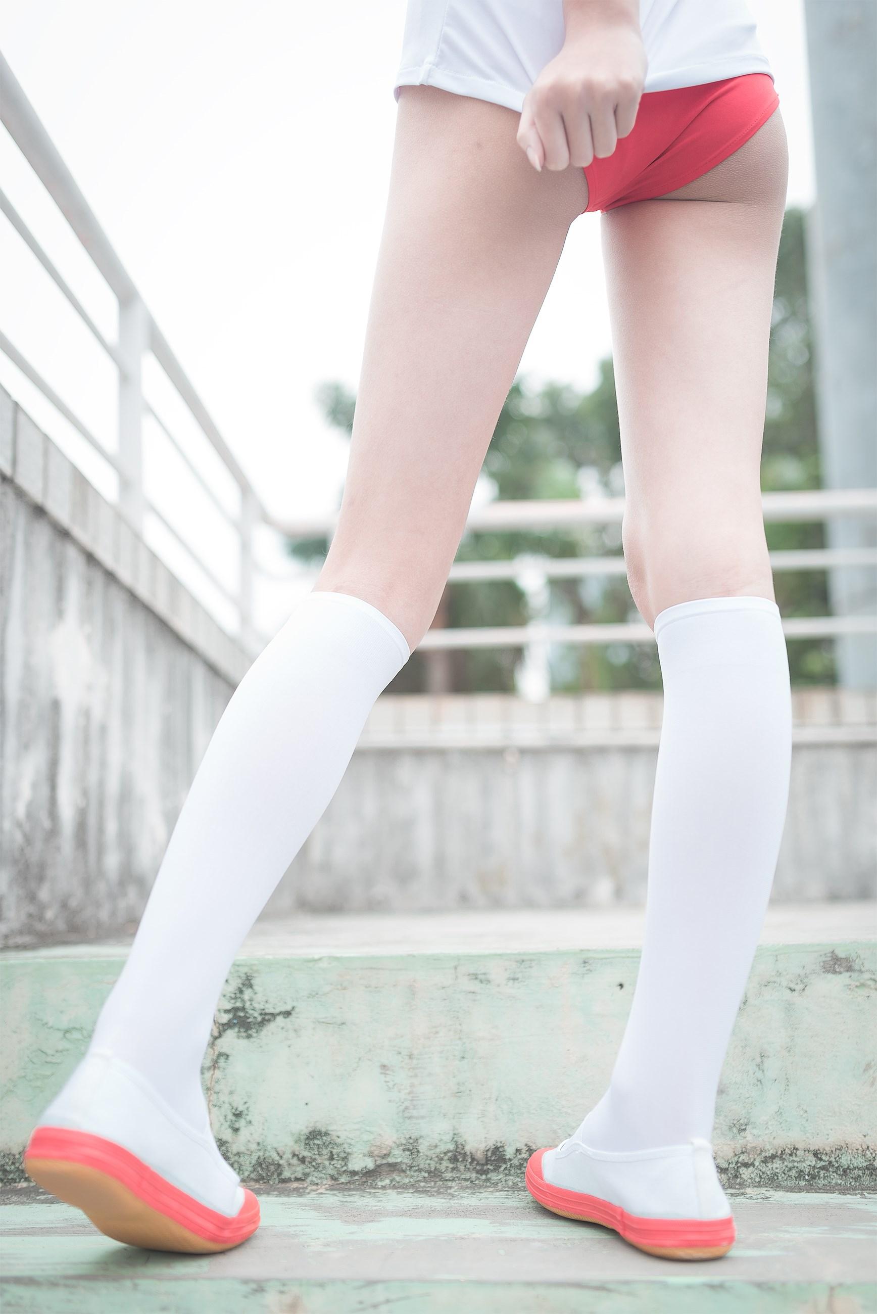 【兔玩映画】百合体操服少女 兔玩映画 第13张