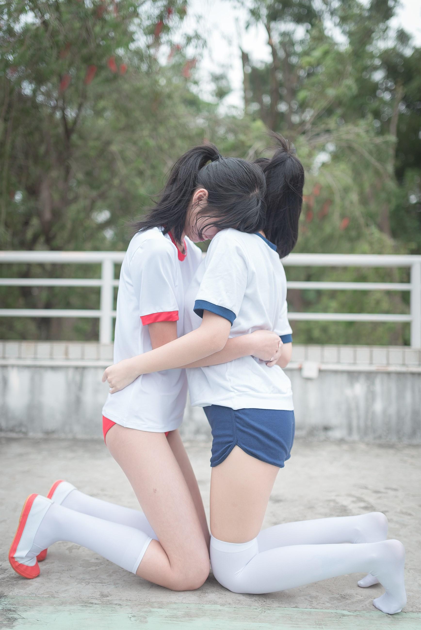 【兔玩映画】百合体操服少女 兔玩映画 第10张