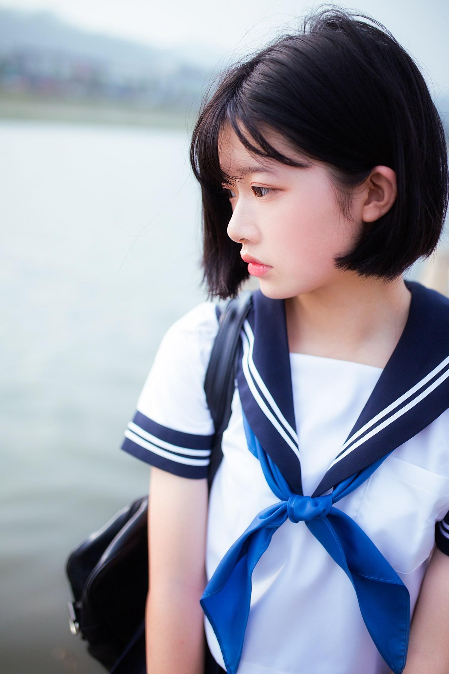 【兔玩映画】水手服-你笑的颜色 兔玩映画 第44张