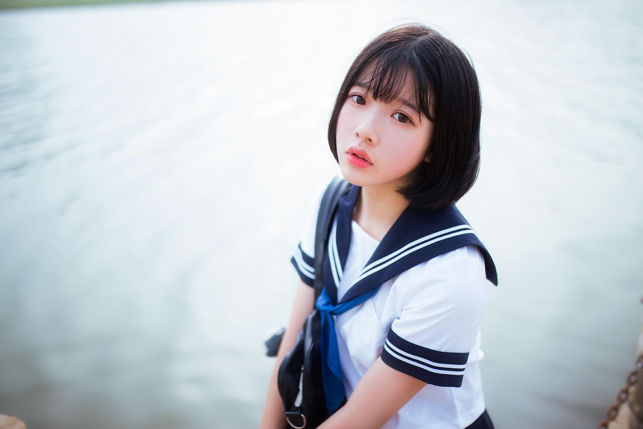 【兔玩映画】水手服-你笑的颜色 兔玩映画 第41张