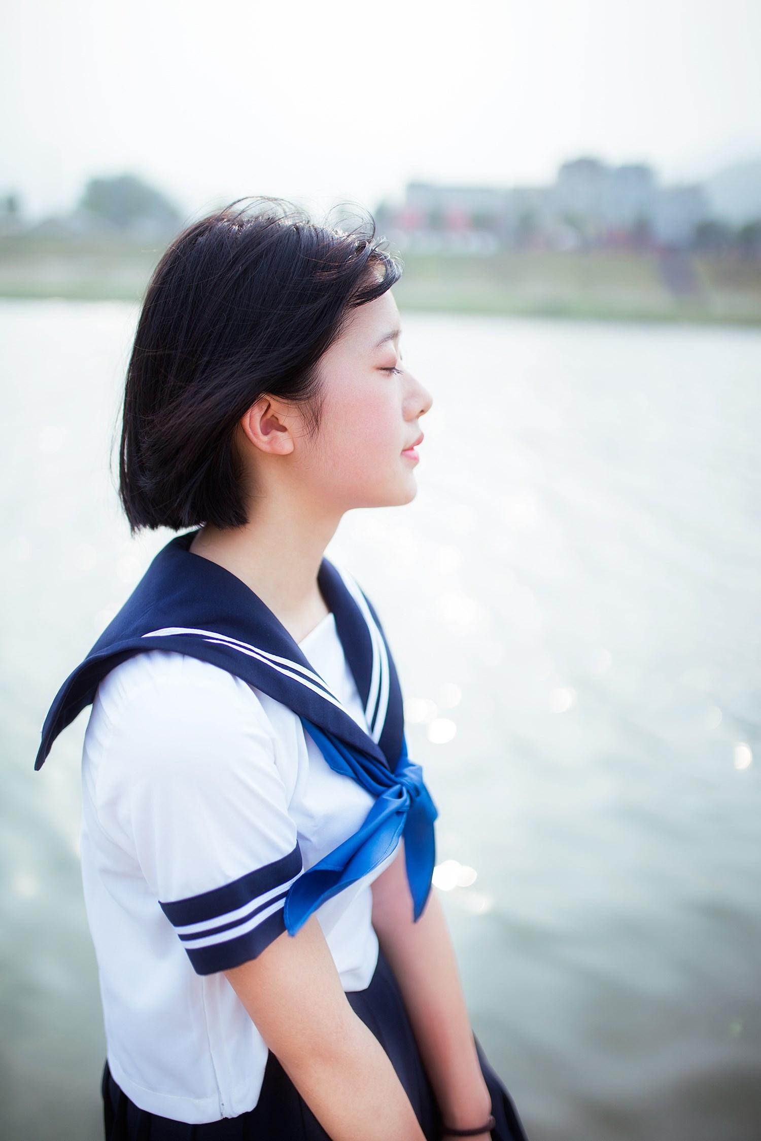 【兔玩映画】水手服-你笑的颜色 兔玩映画 第39张