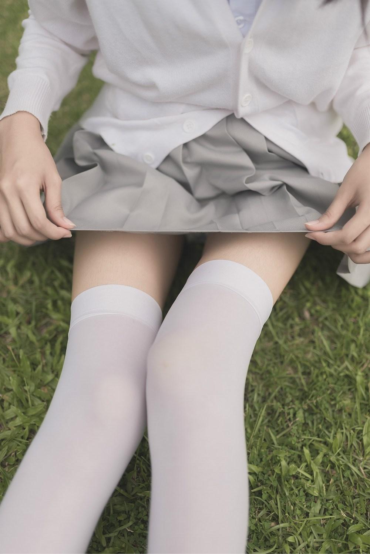 【兔玩映画】白丝过膝袜 兔玩映画 第54张