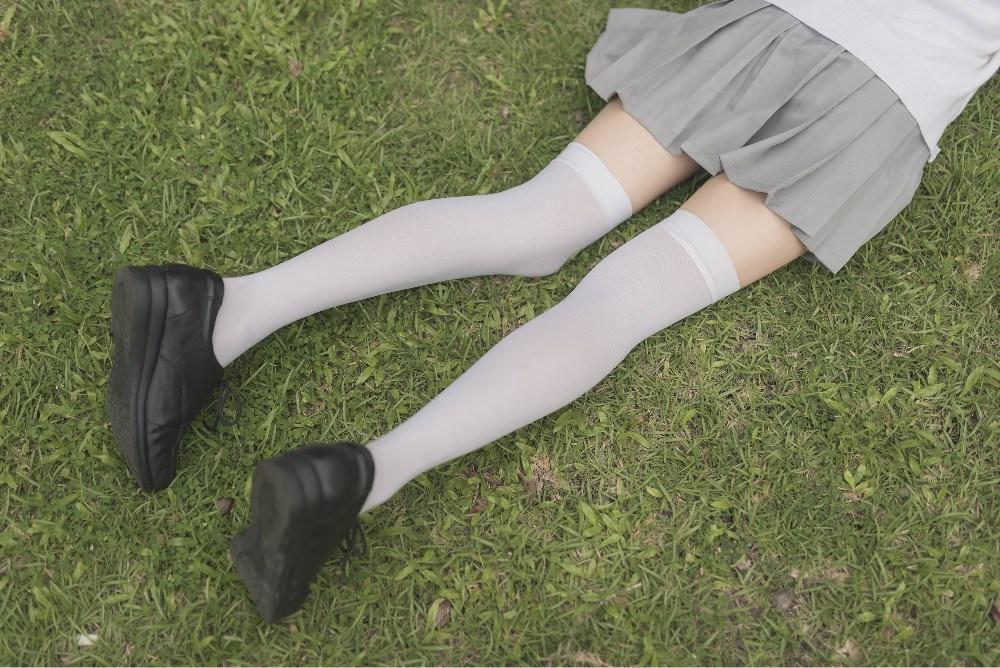 【兔玩映画】白丝过膝袜 兔玩映画 第53张