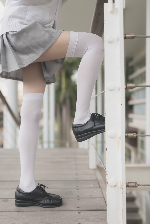 【兔玩映画】白丝过膝袜 兔玩映画 第50张